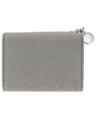 Kompakte Brieftasche aus Kunstwildleder Falabella Shaggy Deer STELLA MCCARTNEY
