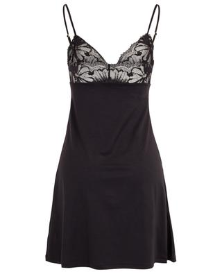 Lace-embellished modal and silk nighty ZIMMERLI