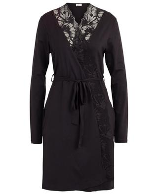 Short robe with lace ZIMMERLI