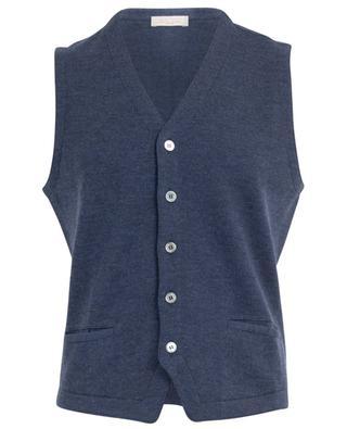 V-neck knit gilet GRAN SASSO