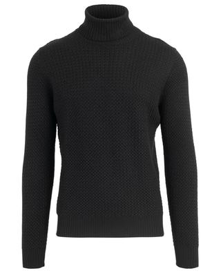 Thin cable knit turtleneck jumper GRAN SASSO