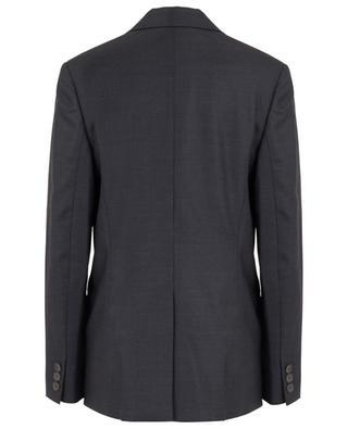 Textured wool blazer with strap detail STELLA MCCARTNEY