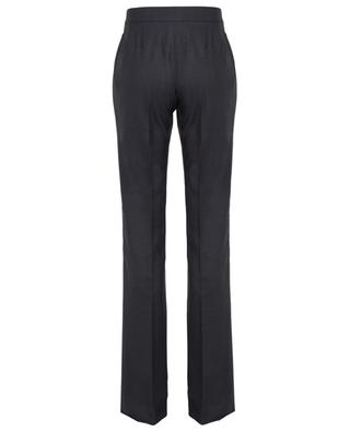 Tailoring textured wool trousers STELLA MCCARTNEY