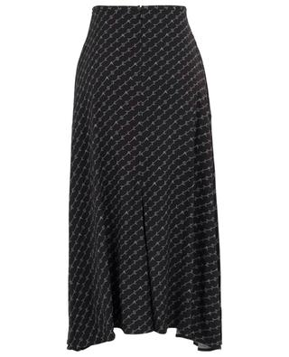 Monogram asymmetrical cady skirt STELLA MCCARTNEY