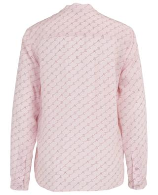 Eva Monogram silk blouse STELLA MCCARTNEY
