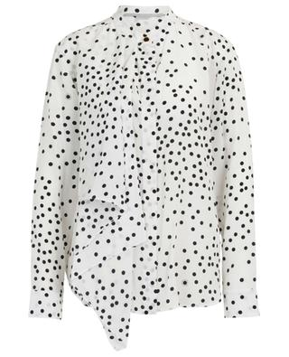 Kiera polka dot shirt with draping STELLA MCCARTNEY