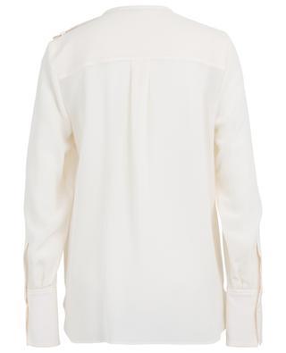 Seidenhemd mit Schulterpatten STELLA MCCARTNEY