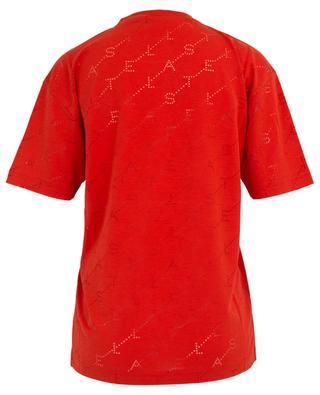 T-shirt en lyocell mélangé Monogram Dévoré STELLA MCCARTNEY