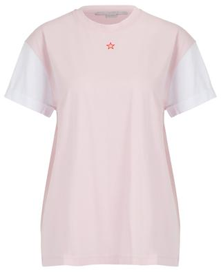 Ministar embroidered bicolour organic T-shirt STELLA MCCARTNEY