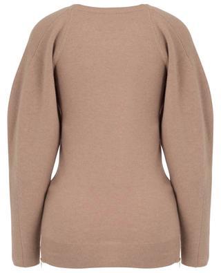 Pullover mit Raglanärmeln und Seitenreissverschlüssen Soft Simple STELLA MCCARTNEY