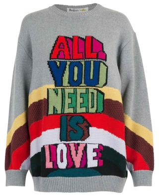 Pull oversize All You Need is Love STELLA MCCARTNEY