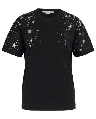 T-Shirt aus Lyocell-Mischgewebe Sheer Stars STELLA MCCARTNEY