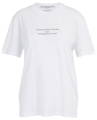 Slogan-T-Shirt aus Bio-Baumwolle Fortune Cookie Dream STELLA MCCARTNEY