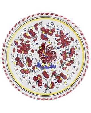 Assiette à pizza coq Gallo Rosso L PIATAVOLA
