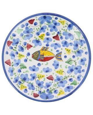 Assiette à antipasti motif poisson Pesce Azurro S PIATAVOLA
