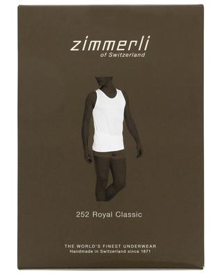 252 Royal Classic cotton tank ZIMMERLI
