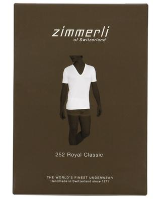 T-shirt en coton 252 Royal Classic ZIMMERLI