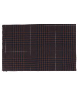 Henry check cashmere scarf 19 ANDREA'S 47