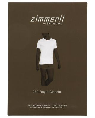 T-Shirt aus Baumwolle 252 Royal Classic ZIMMERLI