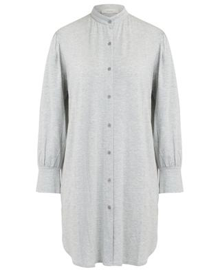 Ceani button-down modal night shirt PLUTO