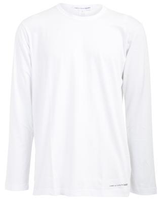 T-shirt à manches longues imprimé logo COMME DES GARCONS SHIRT