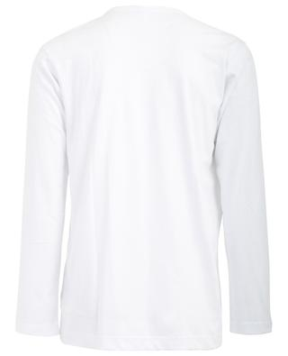 Logo printed long-sleeved T-shirt COMME DES GARCONS SHIRT