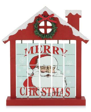 Hölzerner Adventskalender Christmas Countdown House ENCHANTE