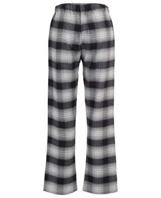 Pantalon de pyjama à carreaux en flanelle BLUE LEMON