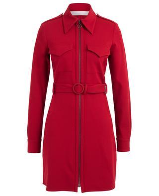 Belted viscose blend dress VICTORIA BY VICTORIA BECKHAM