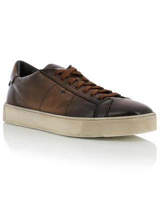 Leather sneakers SANTONI