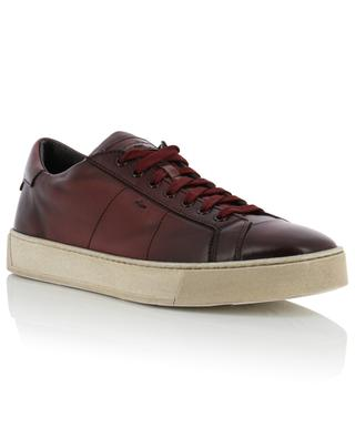Leather sneakers SANTONI