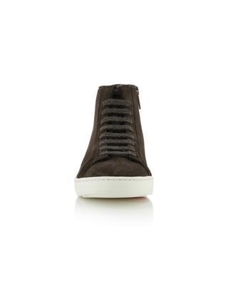 Suede high-top sneakers SANTONI