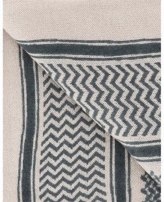 Écharpe tricot inspiration bédouin Sarafatknit HEMISPHERE