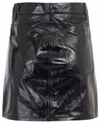 Shiny nappa leather mini skirt BALENCIAGA