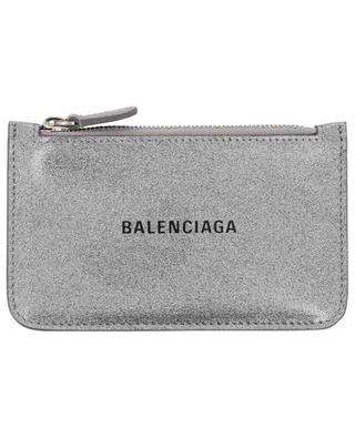 Portes-cartes en cuir à paillettes Everyday BALENCIAGA