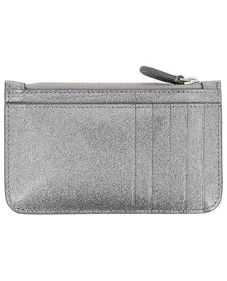 Everyday glitter leather card-holder BALENCIAGA