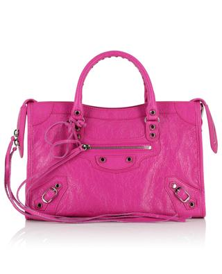 Classic City textured leather handbag BALENCIAGA
