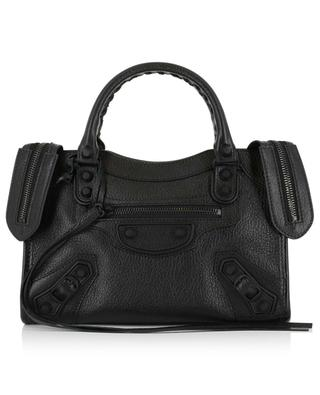Mini City grained leather handbag BALENCIAGA