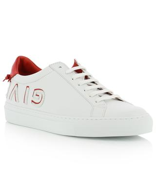 Baskets en cuir patch logo Urban Street GIVENCHY