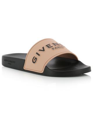 Claquettes en gomme Givenchy Paris GIVENCHY