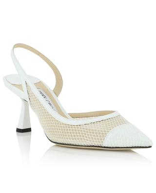 Fetto 65 patent leather and mesh pumps JIMMY CHOO