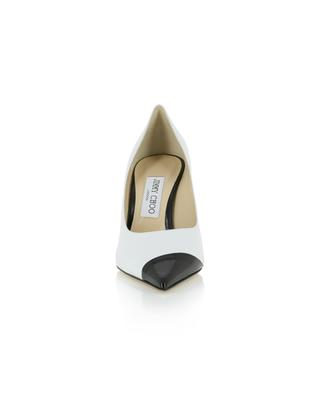 Love 85 asymmetrical leather pumps JIMMY CHOO