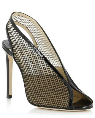 Shar 100 patent leather and mesh pumps JIMMY CHOO