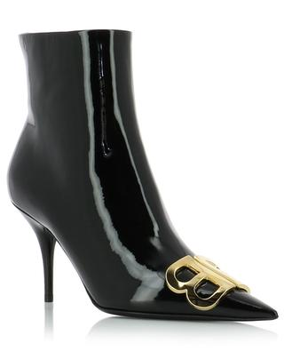 BB pointy toe patent leather ankle boots BALENCIAGA