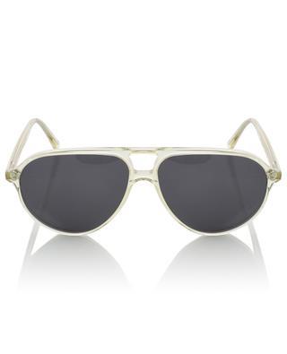 Sonnenbrille aus klarem Acetat The Aviator VIU