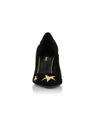Escarpins ornés d'étoiles dorées Anja 85 Stars SAINT LAURENT PARIS