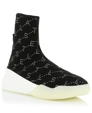 Loop Monogram high-top sock sneakers STELLA MCCARTNEY