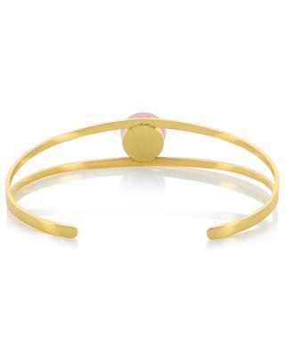 Golden bracelet with stone IKITA