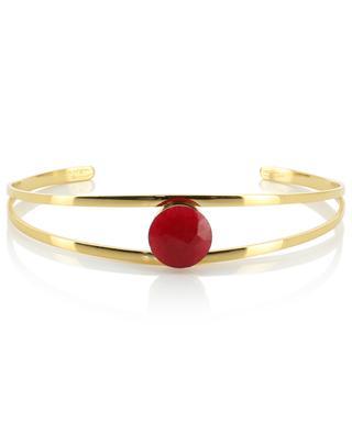 Bracelet doré avec pierre IKITA