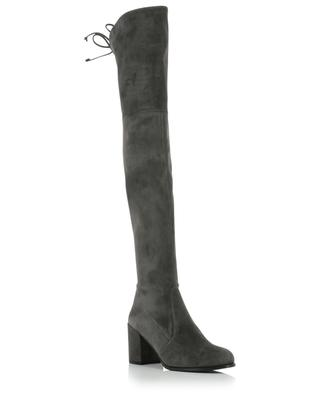 Tieland over-the-knee boots in stretch suede STUART WEITZMAN